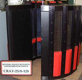 Cray 2 ( 64 Bit Supercompouter)