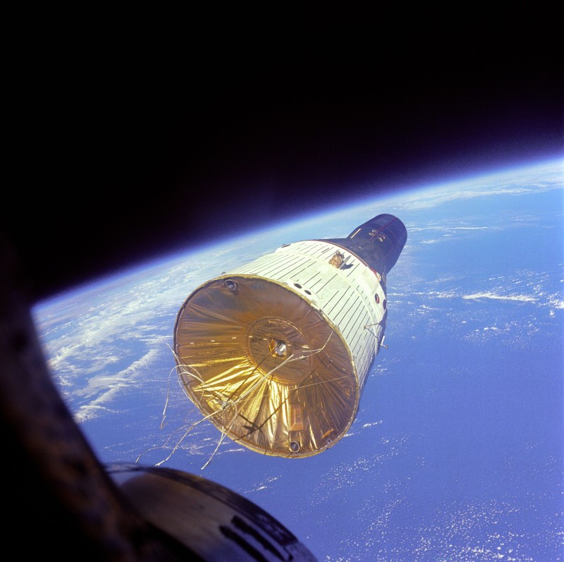 Gemini 7 im Orbit